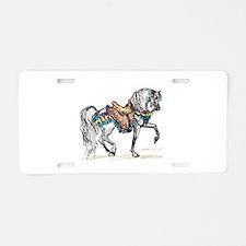 Cute Horse breed Aluminum License Plate