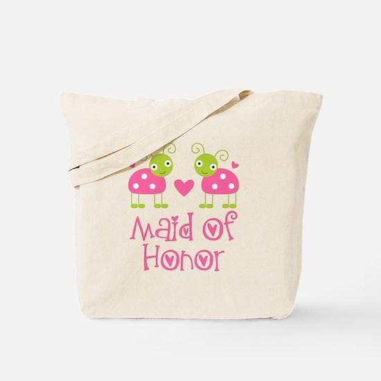 Maid Of Honor Ladybug Tote Bag