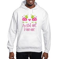 Maid Of Honor Ladybug Hoodie