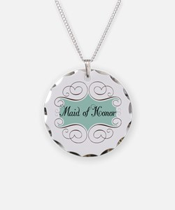 Beautiful Maid Of Honor Necklace