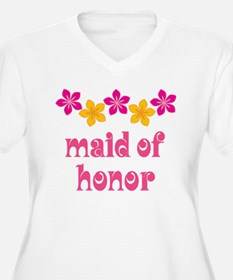 Maid Of Honor Tropical T-Shirt