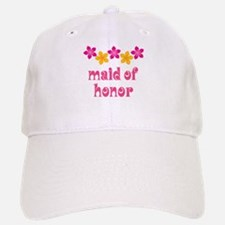 Maid Of Honor Tropical Baseball Baseball Cap