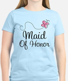 Maid Of Honor Butterfly T-Shirt
