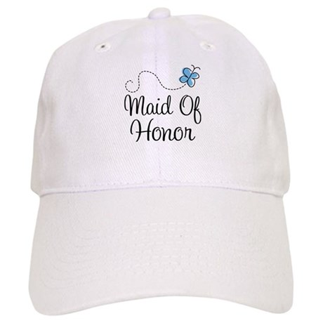 Maid Of Honor Butterfly Cap