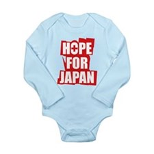 Hope for Japan 2011 Long Sleeve Infant Bodysuit