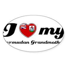 I love My Bermudan Grandmother Decal
