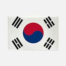 Korean Flag Rectangle Magnet (10 pack)