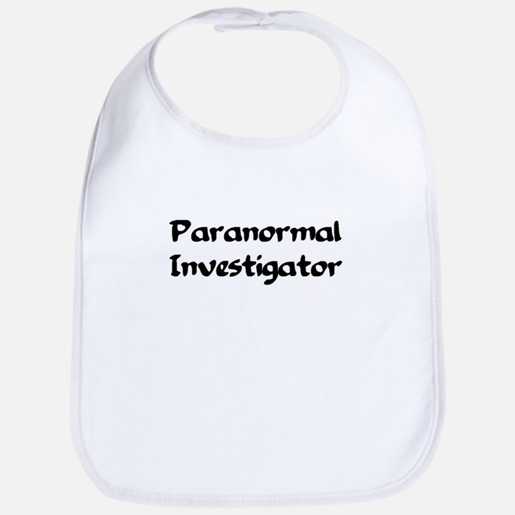 Cute Paranormal investigator Bib