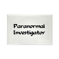 Cool Paranormal investigators Rectangle Magnet
