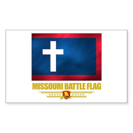 Missouri Battle Flag Sticker (Rectangle)