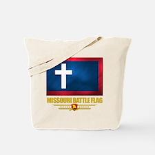 Missouri Battle Flag Tote Bag