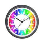 RAINBOW SERIES: Rainbow of Sunlight W. Clock