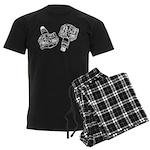 Pedal: Men's Dark Pajamas
