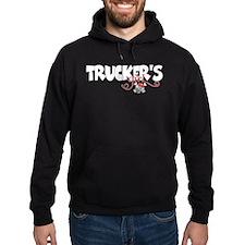 Trucker's Girl w/Skull Hoodie