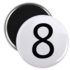 Funny 8 ball Magnet