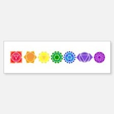 The Chakras Bumper Car Car Sticker