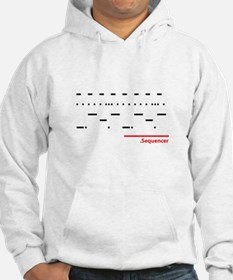 Sequencer White Hoodie