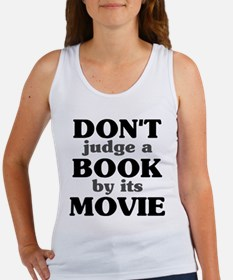 Don't Judge a Book by its Mov Women's Tank Top