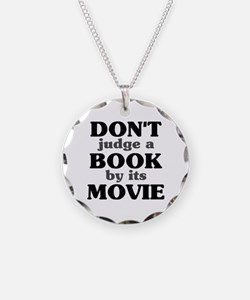 Don't Judge a Book by its Mov Necklace