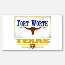 Fort Worth Pride Decal
