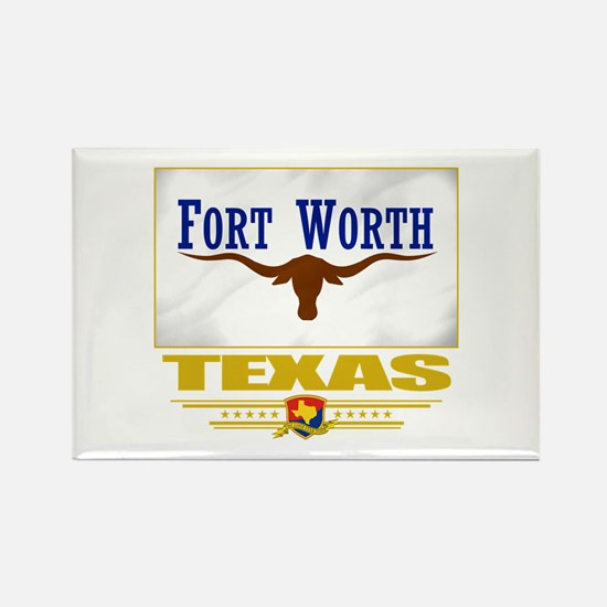 Fort Worth Pride Rectangle Magnet