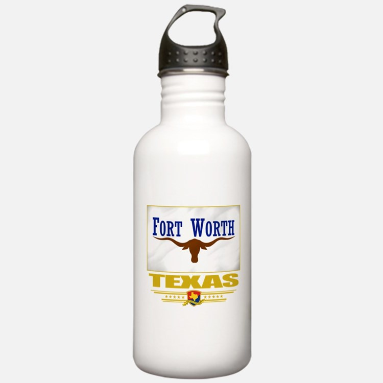 Fort Worth Pride Water Bottle
