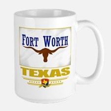 Fort Worth Pride Large Mug
