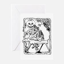 Jack Pumpkinhead, Tip & Sawhorse Greeting Cards