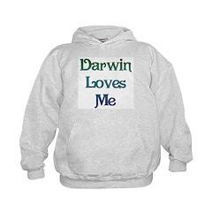 Darwin Loves Me Hoodie
