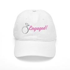Engaged Diamond Ring Baseball Cap