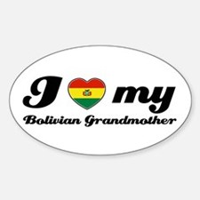 I love My Bolivian Grandmother Decal