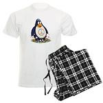 Peace Penguin Men's Light Pajamas