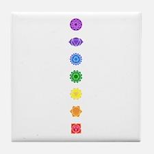 The Chakras Tile Coaster