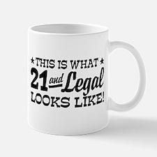 Funny 21st Birthday Mug
