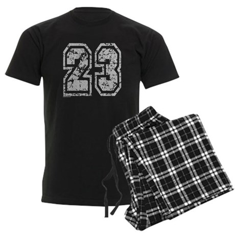 Number 23 Men's Dark Pajamas