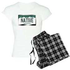 """""""NATIVE"""" Colorado License Plate Pajamas"""