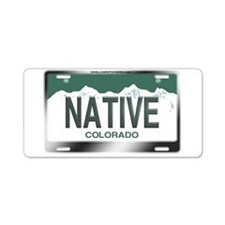 """NATIVE"" Colorado License Plate Aluminum License P"