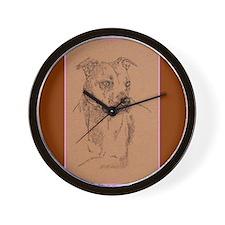 American Pit Bull Terrier Wall Clock