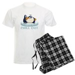Chill Out Penguin Men's Light Pajamas