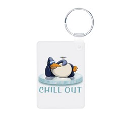 Chill Out Penguin Keychains