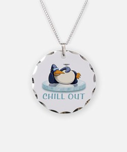 Chill Out Penguin Necklace