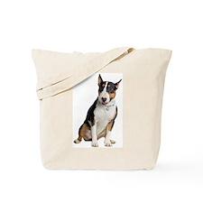 Cute Bull terrier dogs Tote Bag