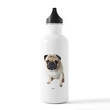 Funny Pugs Water Bottle