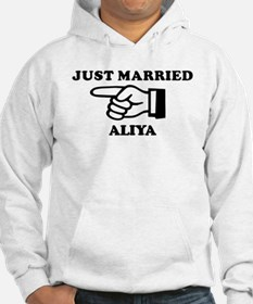 Just Married Aliya Hoodie Sweatshirt