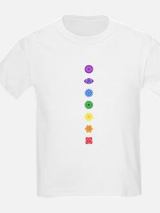 The Chakras Kids T-Shirt