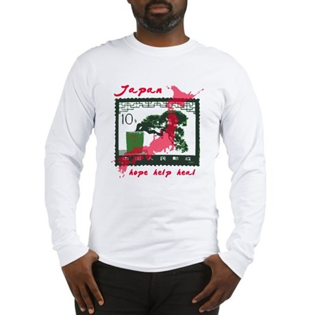 JAPAN RELIEF 2011 Long Sleeve T-Shirt