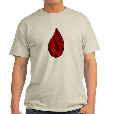 Charlie Sheen Tiger Blood Winning Light T-Shirt