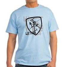 Distressed Vytis and Lietuva T-Shirt