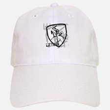 Distressed Vytis and Lietuva Baseball Baseball Cap