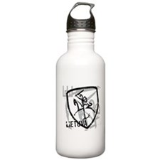 Distressed Vytis and Lietuva Water Bottle